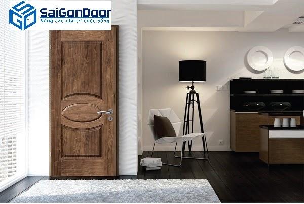 Cửa gỗ HDF phù hợp với mọi phong cách thiết kế